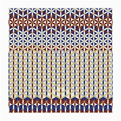 Flower Of Life Pattern 2 Medium Glasses Cloth (2 Side) by Cveti