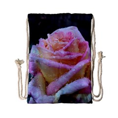 Rose Bag Drawstring Bag (small) by Rooboo