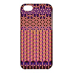 Flower Of Life Pattern 3 Apple Iphone 5c Hardshell Case by Cveti