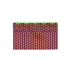 Flower Of Life Pattern 3 Cosmetic Bag (xs)