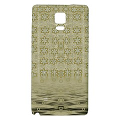 Shooting Stars Over The Sea Of Calm Galaxy Note 4 Back Case by pepitasart