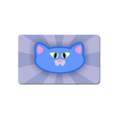 Advertise Animal Boarding Cat Magnet (name Card) by Celenk