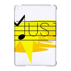 Music Dance Abstract Clip Art Apple Ipad Mini Hardshell Case (compatible With Smart Cover) by Celenk