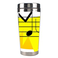 Music Dance Abstract Clip Art Stainless Steel Travel Tumblers by Celenk