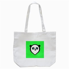 Panda Bear Tote Bag (white)