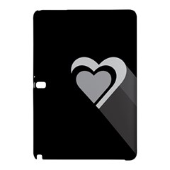 Heart Love Black And White Symbol Samsung Galaxy Tab Pro 10 1 Hardshell Case by Celenk