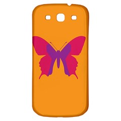 Butterfly Wings Insect Nature Samsung Galaxy S3 S Iii Classic Hardshell Back Case by Celenk
