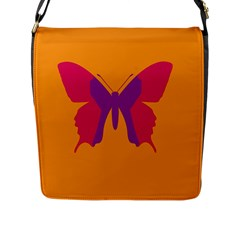 Butterfly Wings Insect Nature Flap Messenger Bag (l)  by Celenk