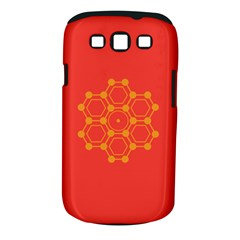 Pentagon Cells Chemistry Yellow Samsung Galaxy S Iii Classic Hardshell Case (pc+silicone) by Celenk