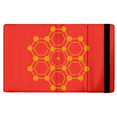 Pentagon Cells Chemistry Yellow Apple Ipad Pro 9 7   Flip Case by Celenk