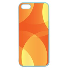 Abstract Orange Yellow Red Color Apple Seamless Iphone 5 Case (color) by Celenk