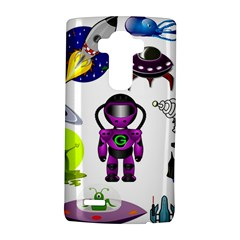 Space Clip Art Aliens Space Craft Lg G4 Hardshell Case by Celenk
