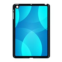 Abstract Blue Wallpaper Wave Apple Ipad Mini Case (black) by Celenk