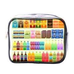Supermarket Shelf Products Snacks Mini Toiletries Bags by Celenk