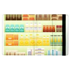 Supermarket Shelf Coffee Tea Grains Apple Ipad Pro 9 7   Flip Case by Celenk