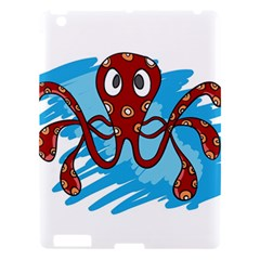 Octopus Sea Ocean Cartoon Animal Apple Ipad 3/4 Hardshell Case by Celenk