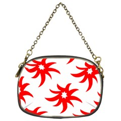 Star Figure Form Pattern Structure Chain Purses (one Side)  by Celenk