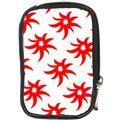 Star Figure Form Pattern Structure Compact Camera Cases by Celenk