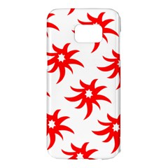 Star Figure Form Pattern Structure Samsung Galaxy S7 Edge Hardshell Case