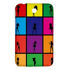 Girls Fashion Fashion Girl Young Samsung Galaxy Tab 3 (7 ) P3200 Hardshell Case