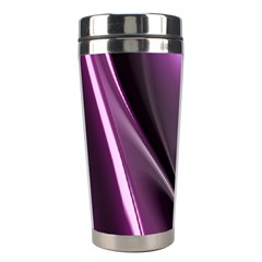 Fractal Mathematics Abstract Stainless Steel Travel Tumblers by Celenk