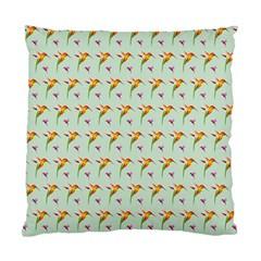 Birds Hummingbirds Wings Standard Cushion Case (one Side) by Celenk