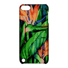 Flowers Art Beautiful Apple Ipod Touch 5 Hardshell Case With Stand by Celenk