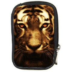 Cat Tiger Animal Wildlife Wild Compact Camera Cases by Celenk