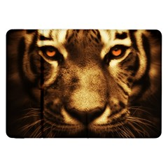 Cat Tiger Animal Wildlife Wild Samsung Galaxy Tab 8 9  P7300 Flip Case by Celenk