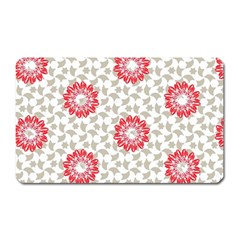Stamping Pattern Fashion Background Magnet (rectangular) by Celenk