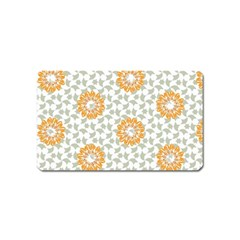Stamping Pattern Fashion Background Magnet (name Card) by Celenk