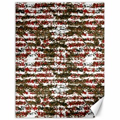 Grunge Textured Abstract Pattern Canvas 12  X 16   by dflcprints
