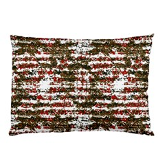 Grunge Textured Abstract Pattern Pillow Case by dflcprints
