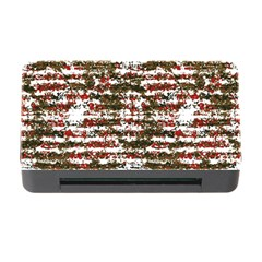 Grunge Textured Abstract Pattern Memory Card Reader With Cf by dflcprints