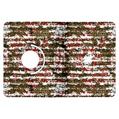 Grunge Textured Abstract Pattern Kindle Fire Hdx Flip 360 Case by dflcprints