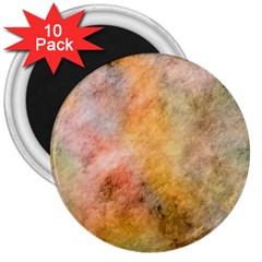 Texture Pattern Background Marbled 3  Magnets (10 Pack)  by Celenk