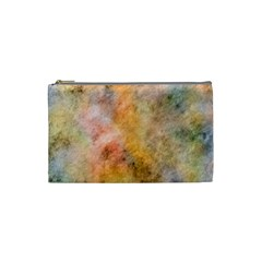 Texture Pattern Background Marbled Cosmetic Bag (small)  by Celenk