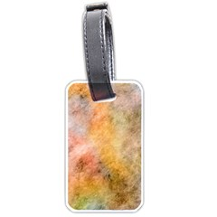 Texture Pattern Background Marbled Luggage Tags (one Side)  by Celenk