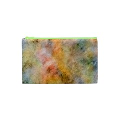 Texture Pattern Background Marbled Cosmetic Bag (xs) by Celenk