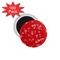 Template Winter Christmas Xmas 1 75  Magnets (100 Pack)  by Celenk