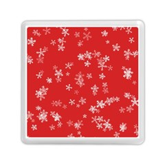 Template Winter Christmas Xmas Memory Card Reader (square)  by Celenk