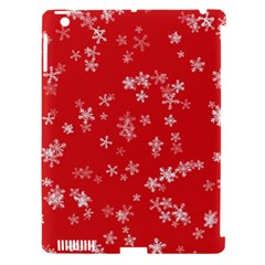 Template Winter Christmas Xmas Apple Ipad 3/4 Hardshell Case (compatible With Smart Cover) by Celenk