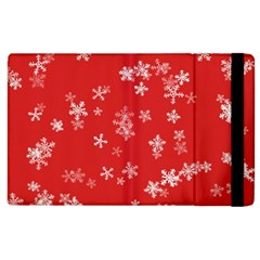 Template Winter Christmas Xmas Apple Ipad 3/4 Flip Case by Celenk
