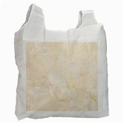 Rock Tile Marble Structure Recycle Bag (two Side)  by Celenk