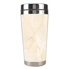 Rock Tile Marble Structure Stainless Steel Travel Tumblers by Celenk