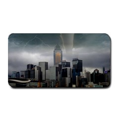 Tornado Storm Lightning Skyline Medium Bar Mats by Celenk