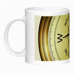 Compass North South East Wes Night Luminous Mugs