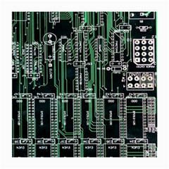 Printed Circuit Board Circuits Medium Glasses Cloth (2 Side) by Celenk