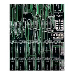 Printed Circuit Board Circuits Shower Curtain 60  X 72  (medium)  by Celenk