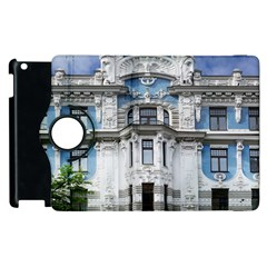 Squad Latvia Architecture Apple Ipad 2 Flip 360 Case by Celenk